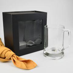 Beer Mug Presentation Gift Box With Magnetic Closing Lid