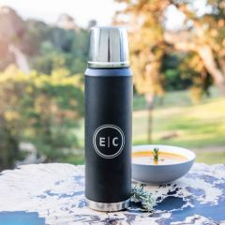 Personalised Engraved Swiss Peak Premium Copper 1L Thermal Flask Christmas Present