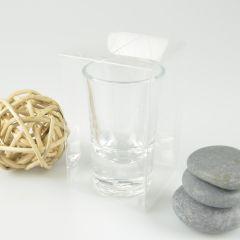 Shot Glass Clear PVC Gift Box