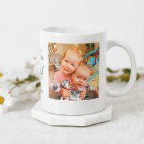 Personalised Colour Photo Printed Christmas Photo Coffee Mug Present Gift