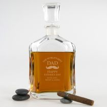 Personalised Engraved Father's Day Decanter Present