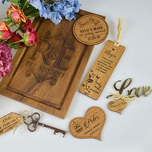 Rustic Wooden Wedding Ideas